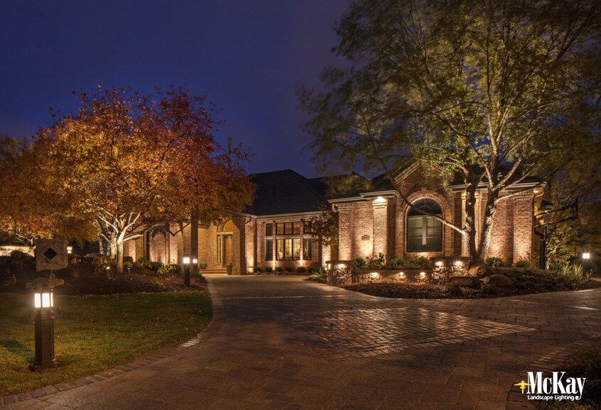 driveway lighting ideas for safety and curb appeal curb appeal