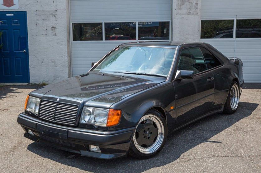 Rare 1990 Mercedes Benz 300ce 3 4 Amg Up For Sale On Ebay Benz