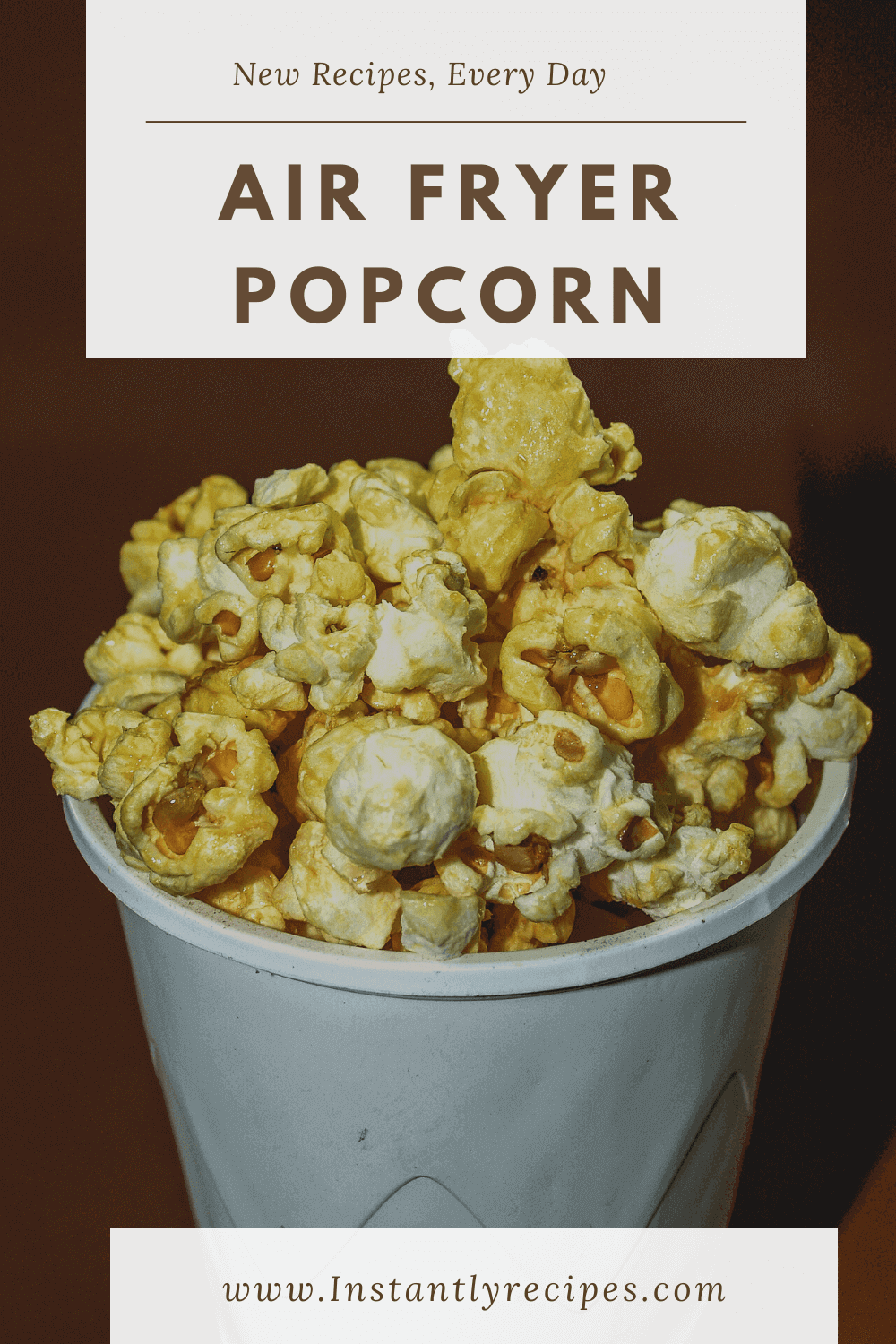 Air fryer popcorn Recipe in 2020 Recipes, Popcorn