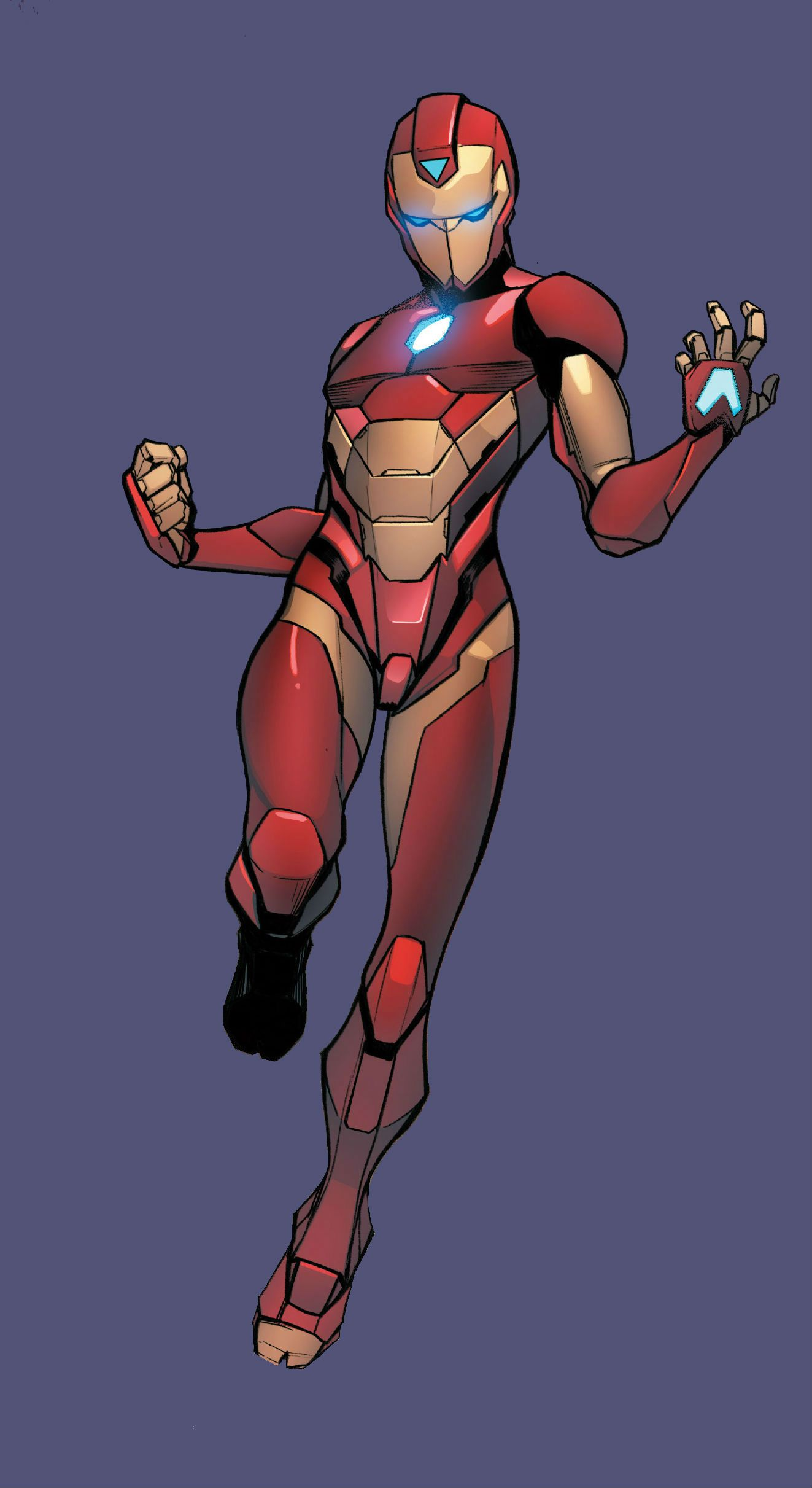 6cddf3a3a9 Ironheart Armor Model 2 (Riri Willians) by STEFANO CASELLI Superhero  Characters