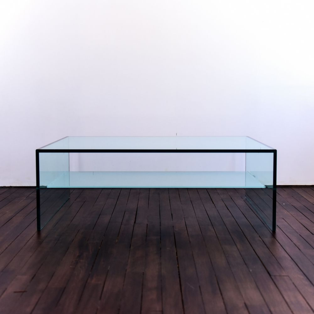 For Sale Coffee Table In Glass With Shelf In Frosted Glass 1990s Coffee Table Table Frosted Glass [ 1000 x 1000 Pixel ]