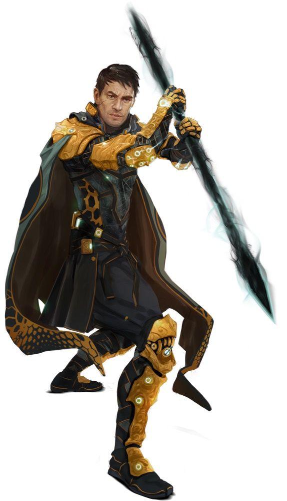 Crix Human Solarian Icon  Starfinder RPG Core Rulebook