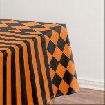 Halloween mix pattern tablecloth #halloween #happyhalloween #halloweenparty #halloweenmakeup #halloweencostume
