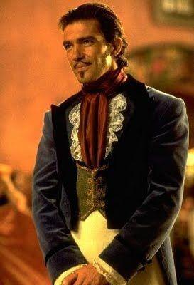Antonio Banderas As Zorro Malaga Malaga Andalucia Spain