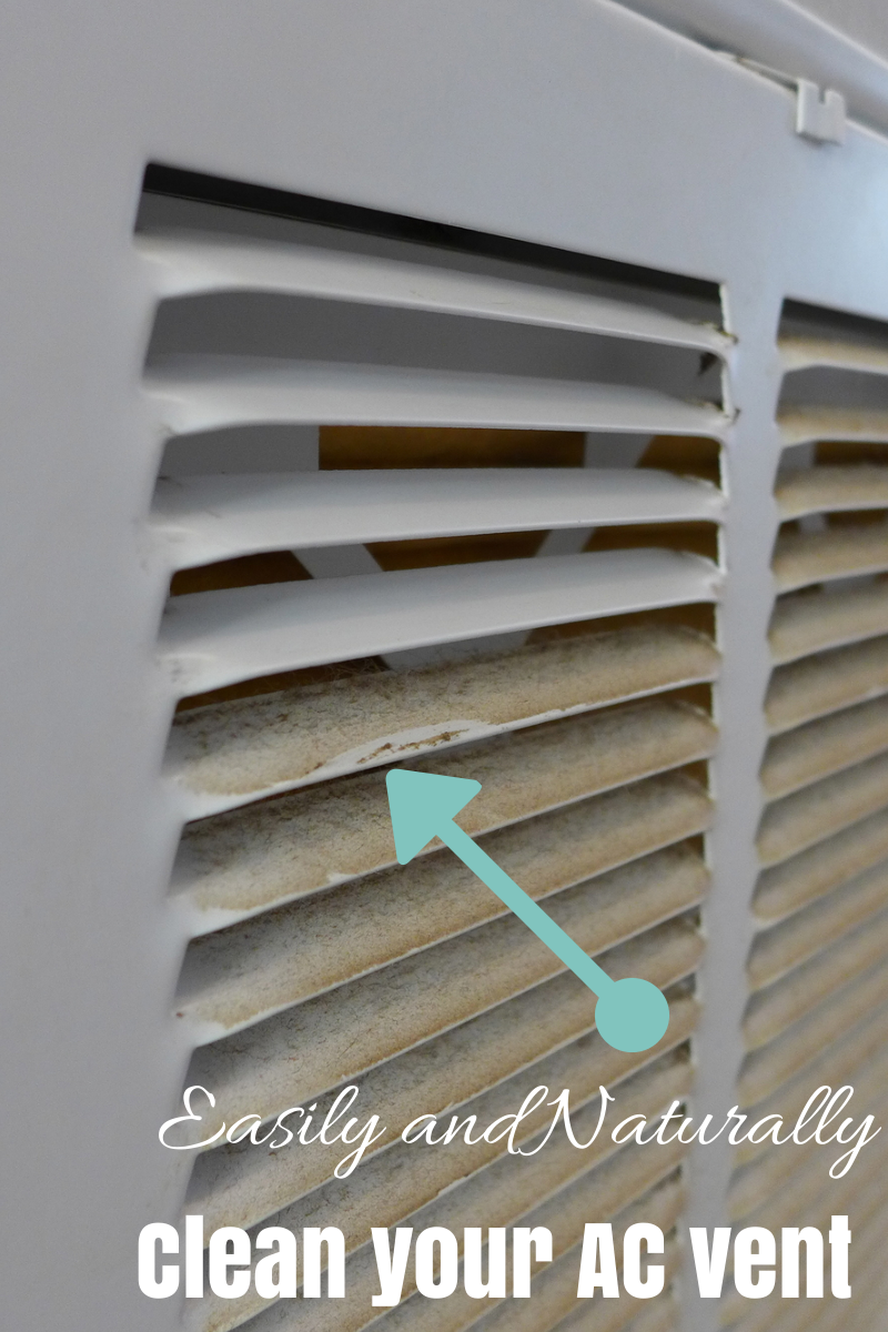 Green Clean your indoor AC Vent greencleaning Cleaning