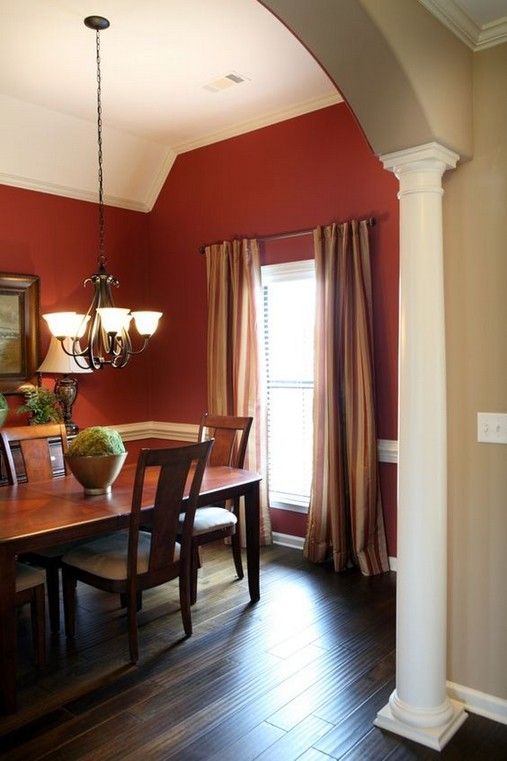 inspiring ideas of maroon wall decorations dining room on what is a wall id=24047