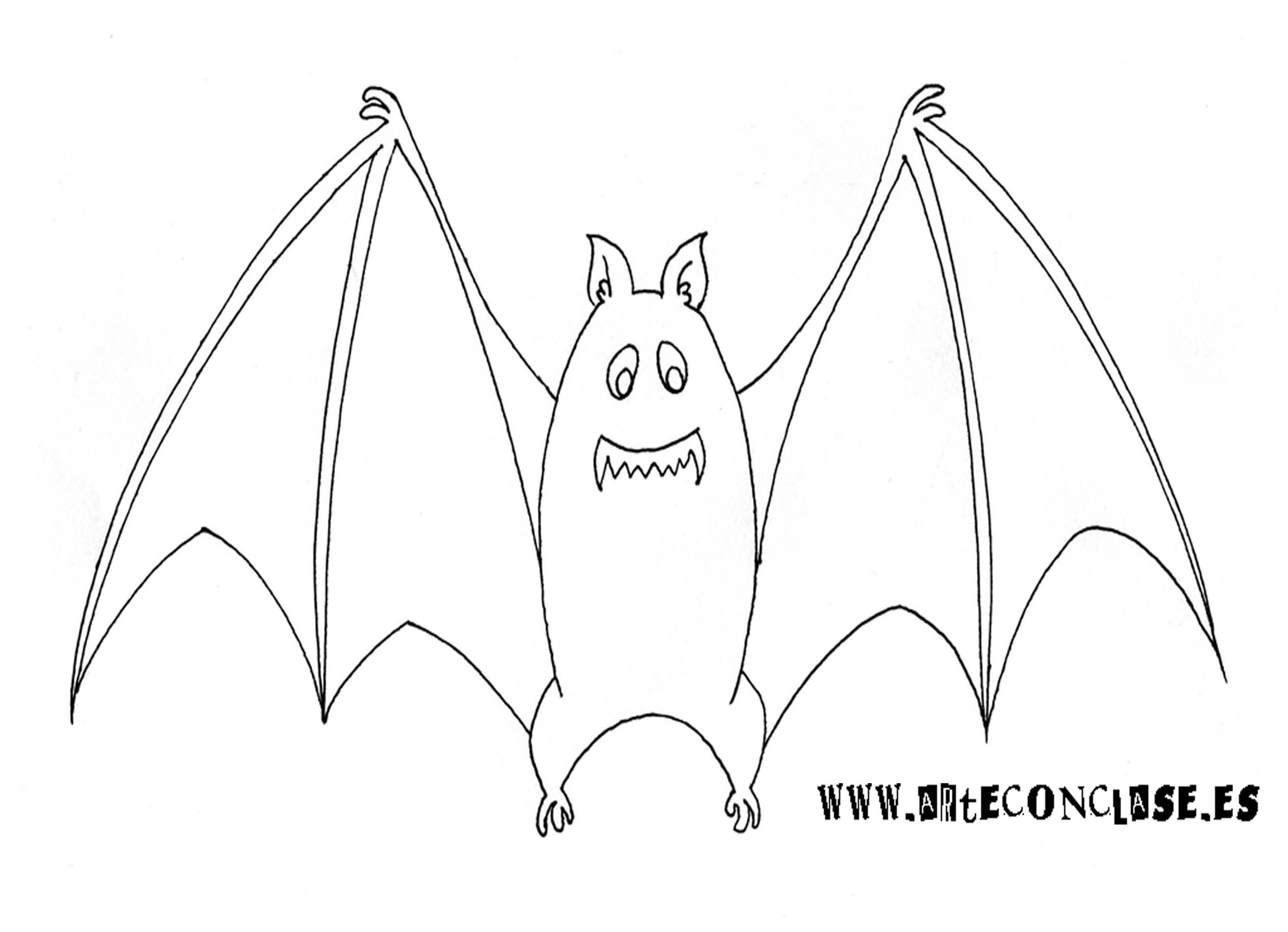 Murciélago | Dibujos para colorear | Pinterest | Plantillas de ...