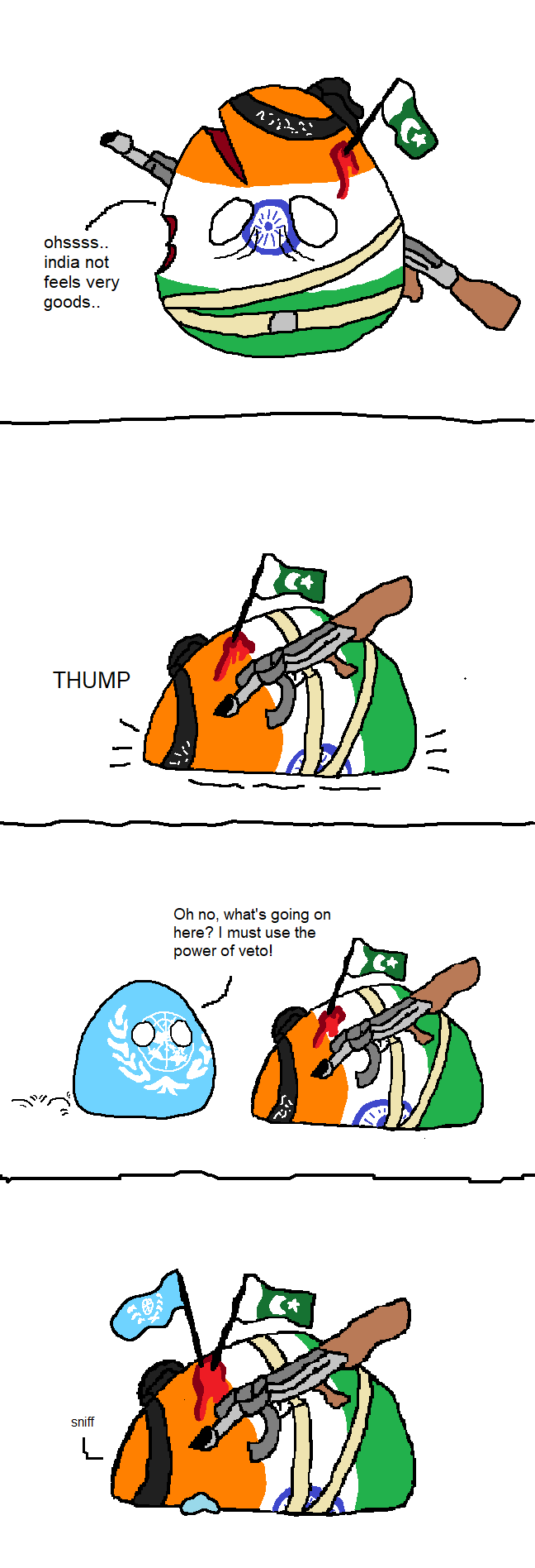 India Gets Vetoed polandball (With images) Country art