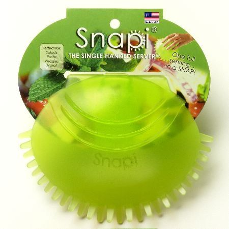 Snapi: Salad Tongs One-Handed Unique Kitchen Serving Utensil Snapi http://www.amazon.com/dp/B00540HCJS/ref=cm_sw_r_pi_dp_ZnYMub18F4A8M
