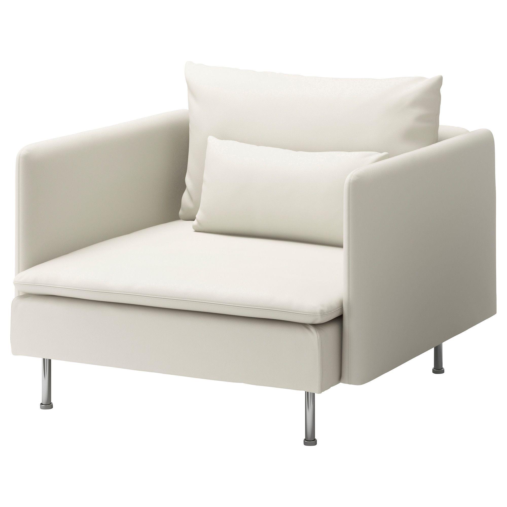 SÖDERHAMN Lenestol - Gräsbo hvit - IKEA