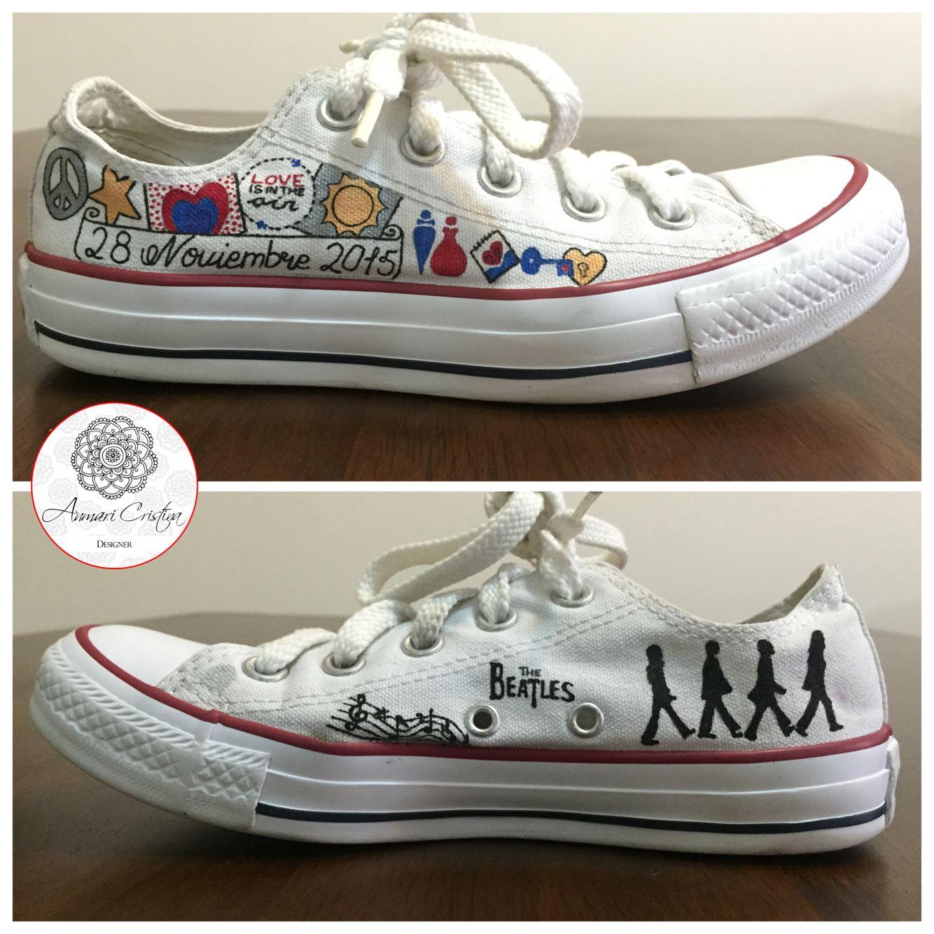 f51ad9100ffd Converse pintados a mano