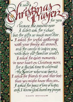 christmas blessing prayer google search