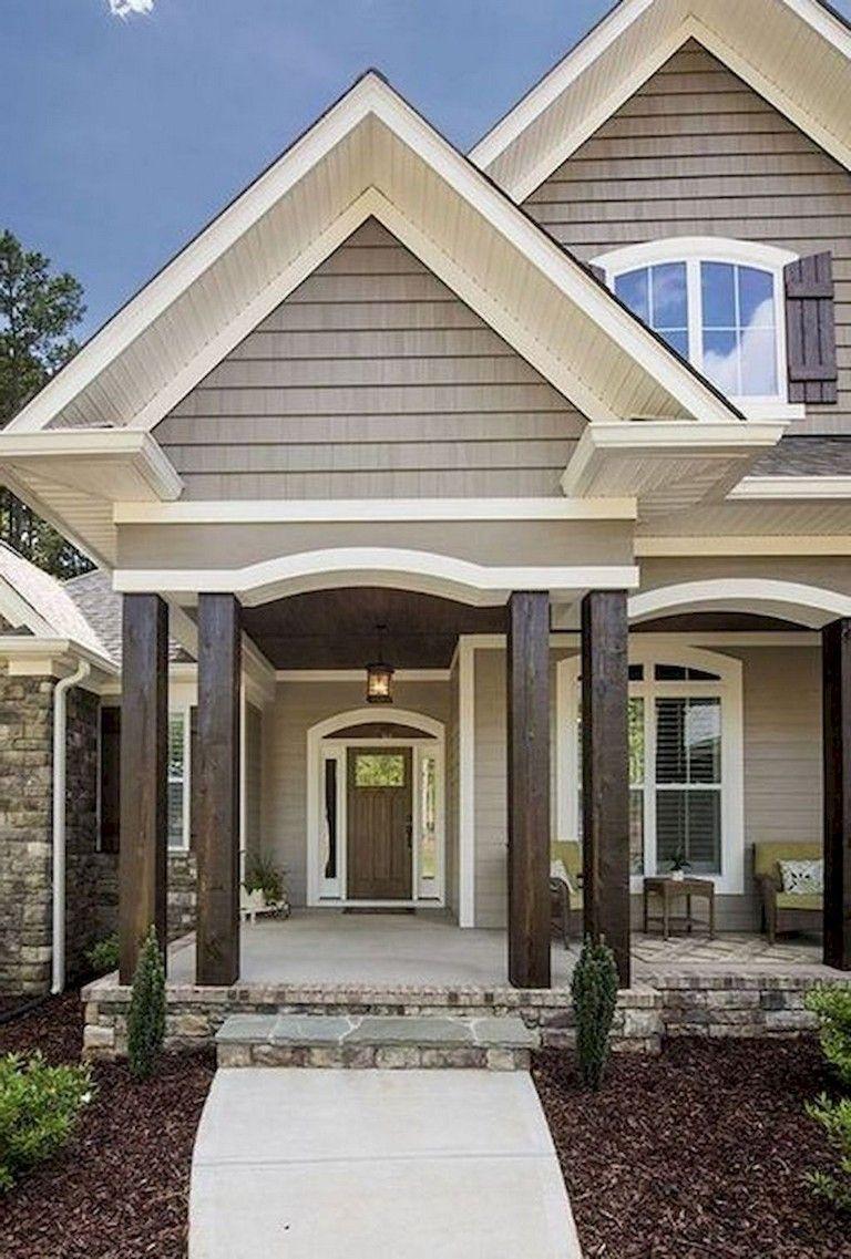 68+ Top Modern Farmhouse Exterior Design Ideas Modern