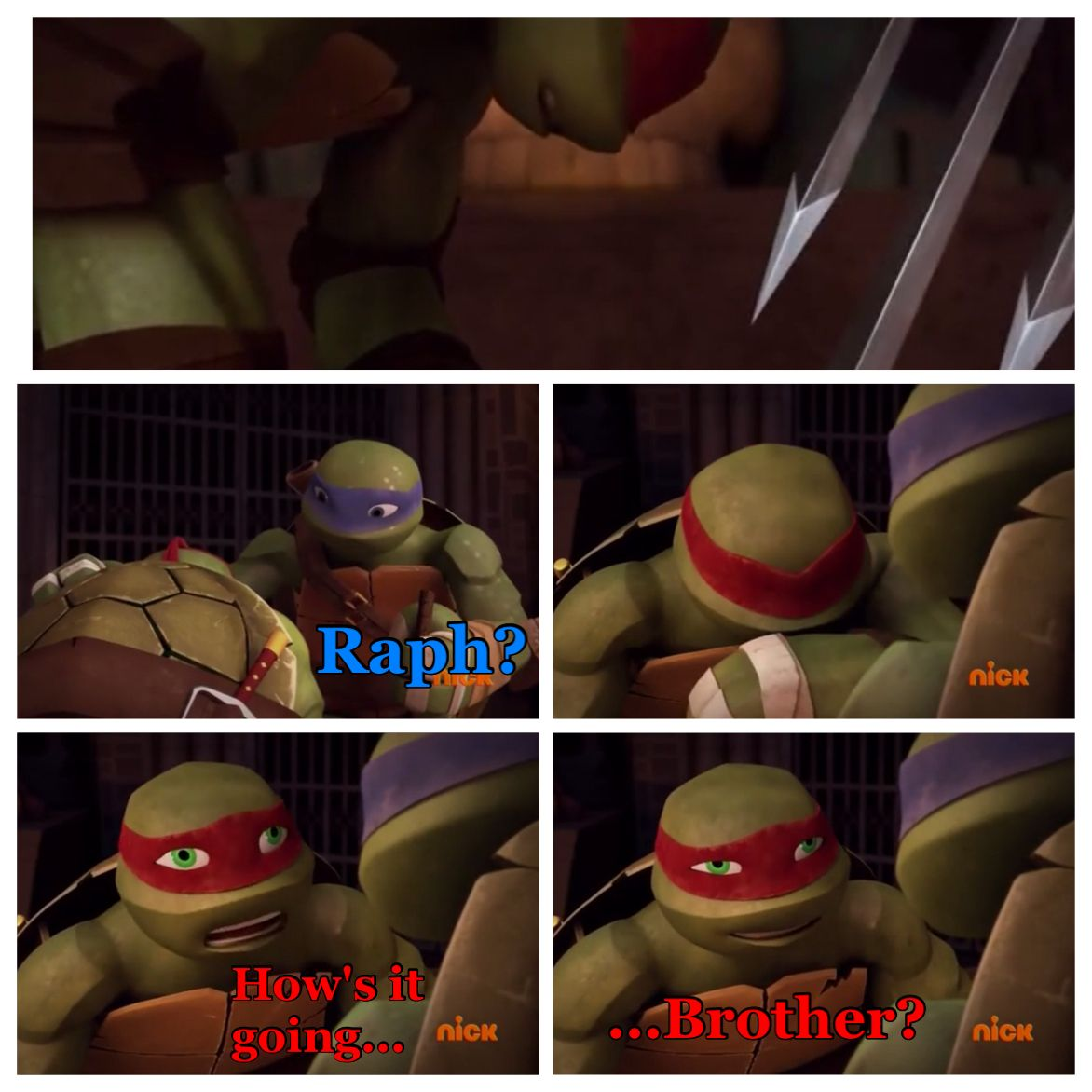 One Of The Best Moments In Tmnt Hostory And No One Not Even