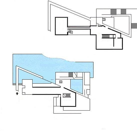 2132) 나리와쵸 미술관 / 안도 다다오 Tadao ando, Architecture plan