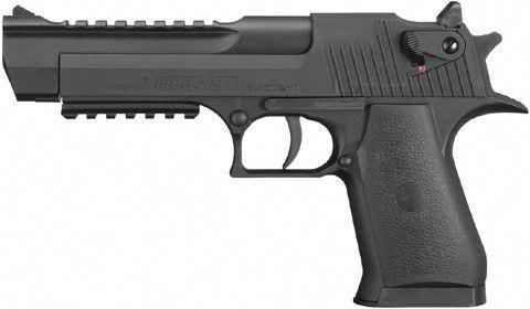 Desert Eagle Black Magnum Research CO2 Airguns #handgun,Glock17