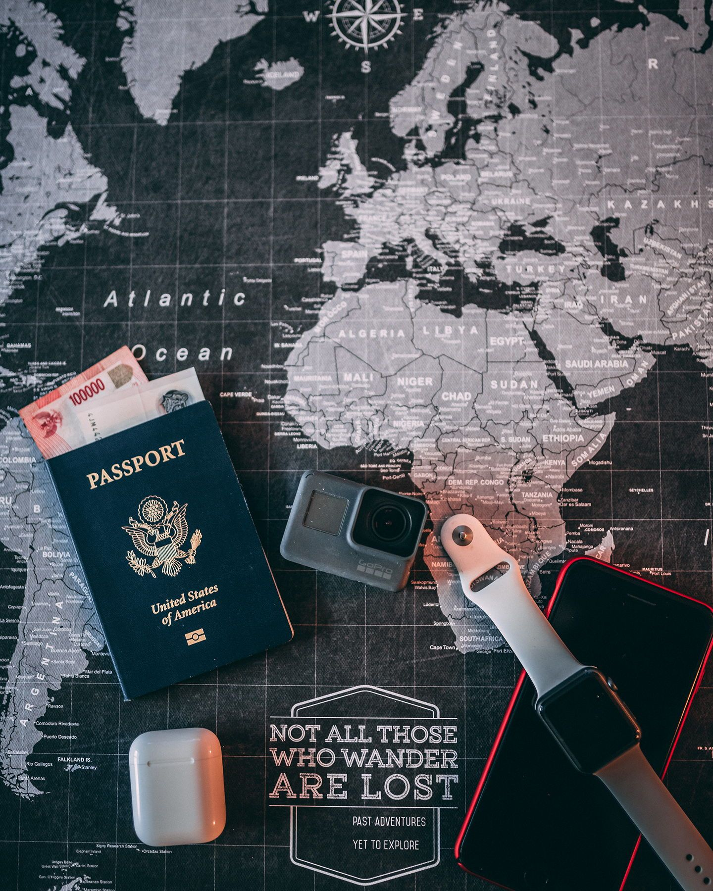 World Travel Map Pin Board Wpush Pins Modern Slate In 2019 - Personalized-us-travel-map-with-pins