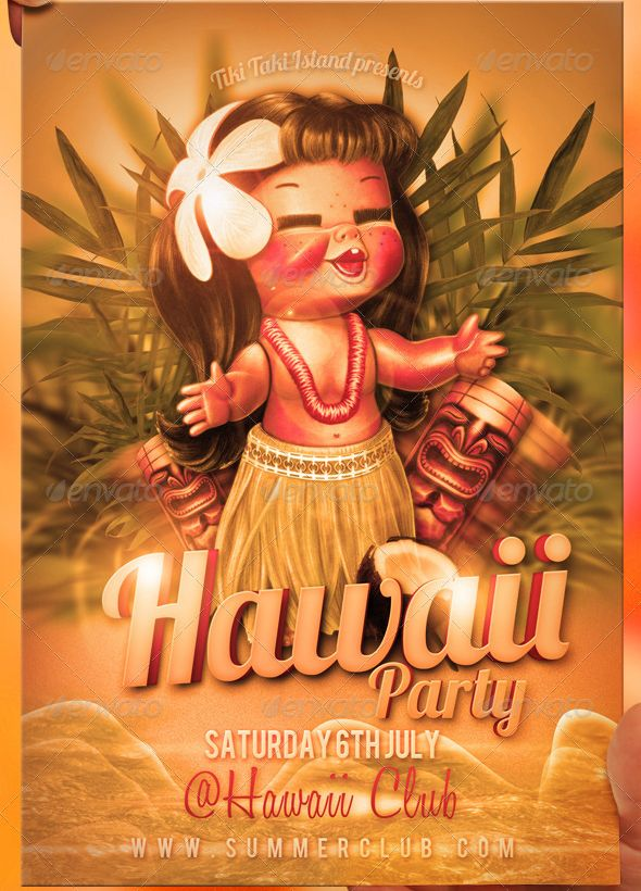 hawaii flyer template labor delivery pinterest flyer
