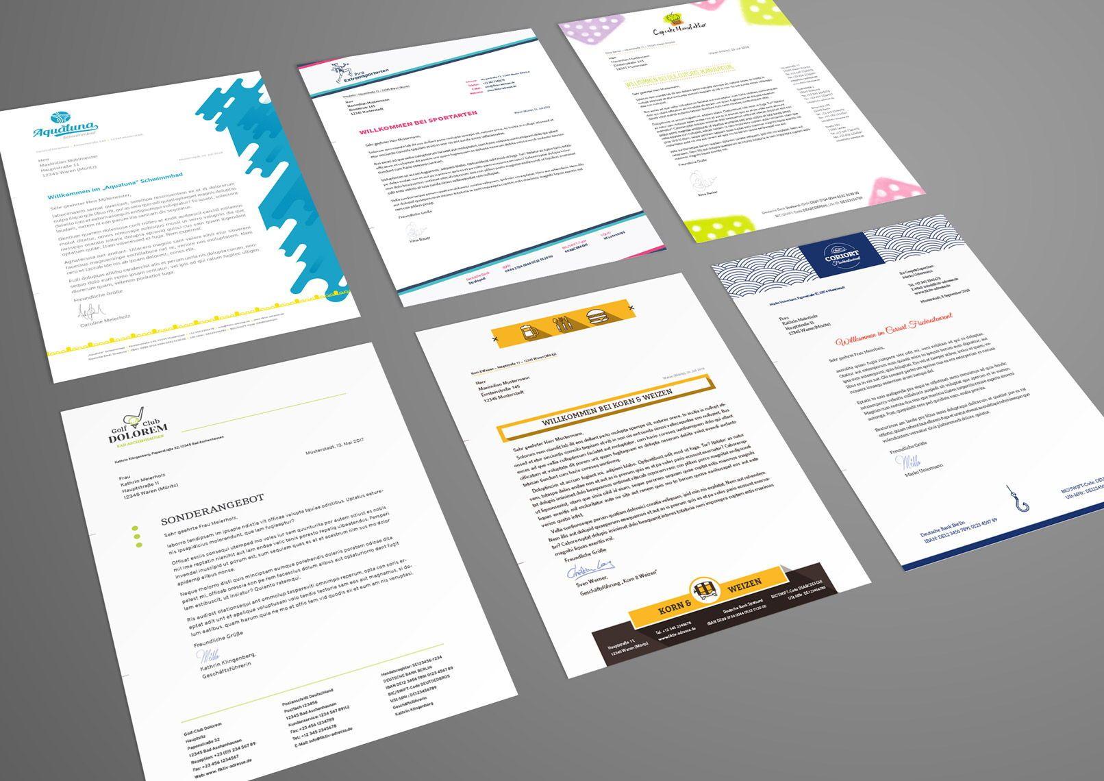 Briefpapier Vorlagen Zum Ausdrucken Briefpapier Vorlage Briefbogen Vorlage Briefpapier