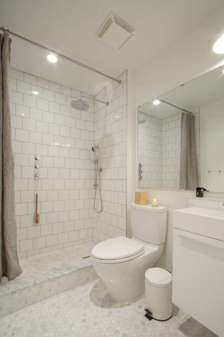 All White Bathroom Renovation for 5500 u003cu003c forgoing