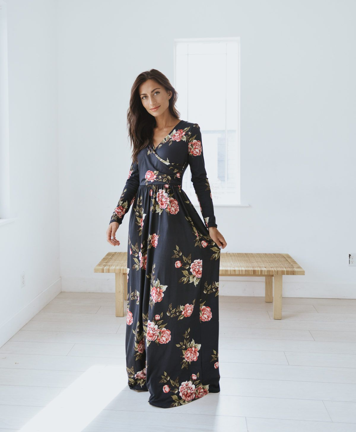 3d5eb72d6092f Wear for life's Journey | Journey Five | Dressy Style | Floral maxi ...