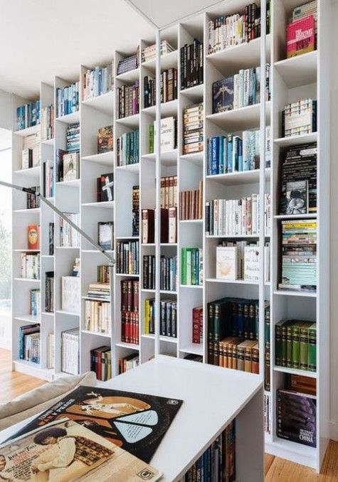 Here Is A Modern Twist On Floor To Ceiling Billy Storage Digsdigs Ikea Billy Bookcase Floor To Ceiling Bookshelves Ikea Billy