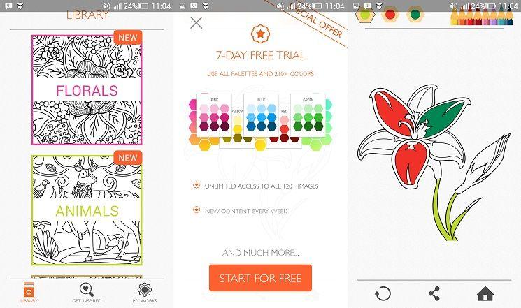 Kumpulan Aplikasi Mobile Untuk Mewarnai Di Gadget Dengan Gambar