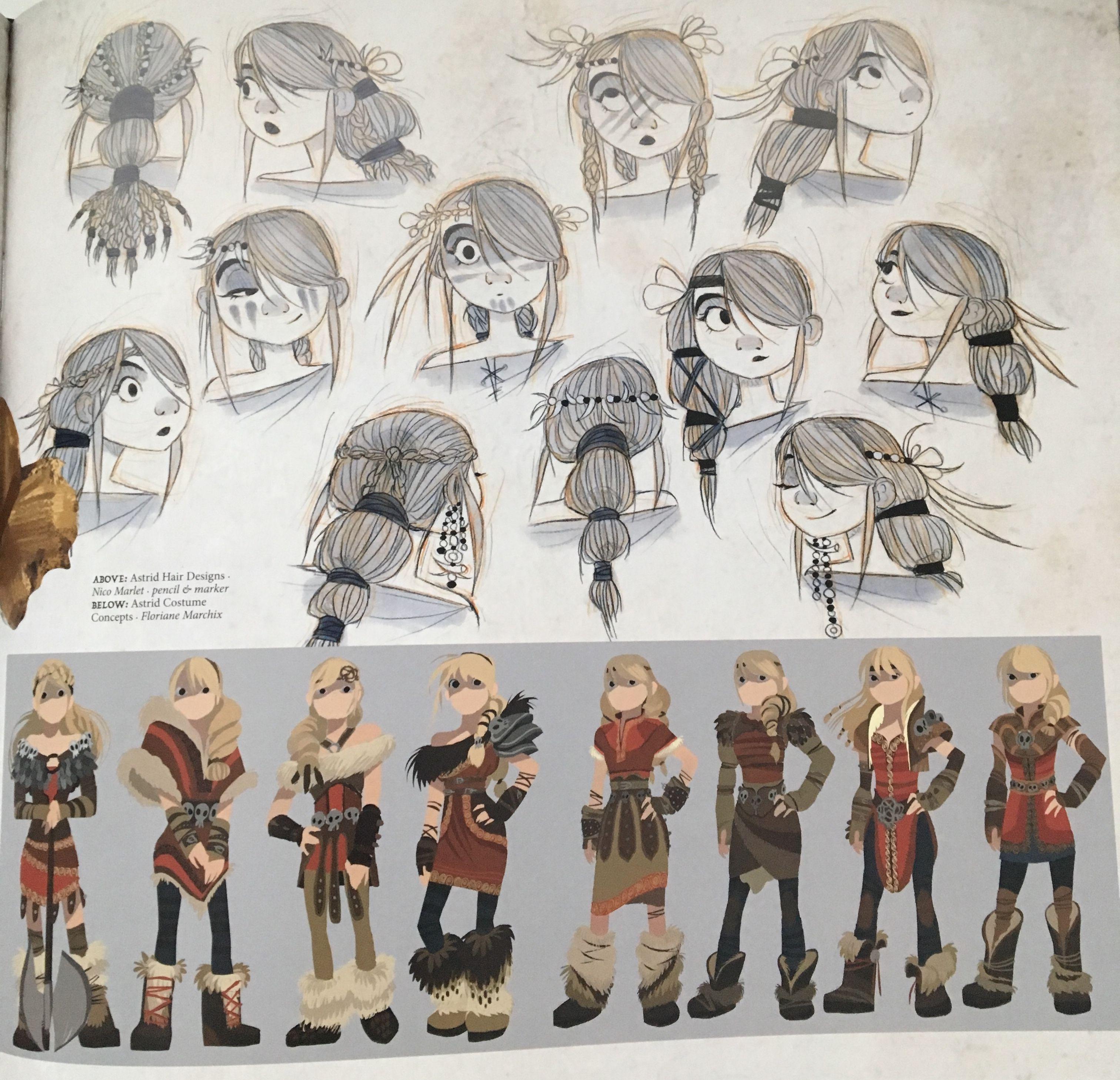 Drachenzähmen leicht gemacht Dragons Drachenreiter von Berk Astrid Figur
