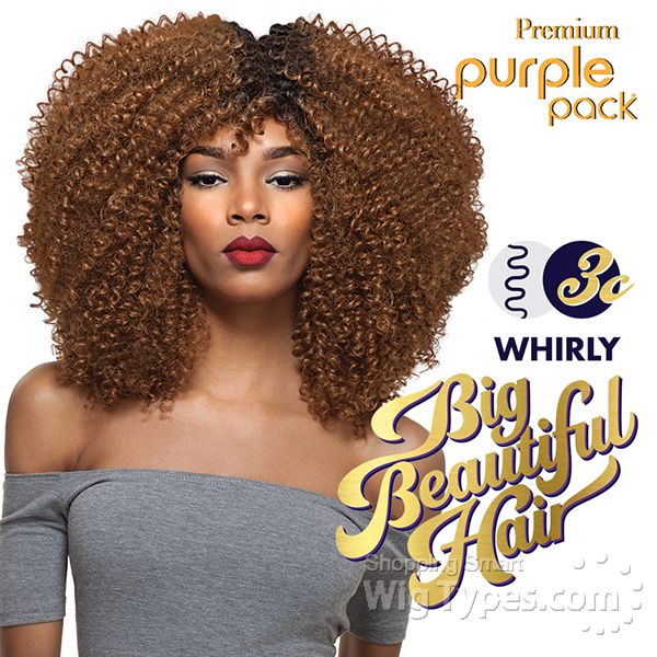 Outre purple pack human hair blend weaving big beautiful hair outre purple pack human hair blend weaving big beautiful hair 3c whirly pmusecretfo Images