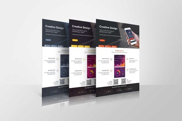 Mobile App Promotional Flyer by Graphicsauthor
