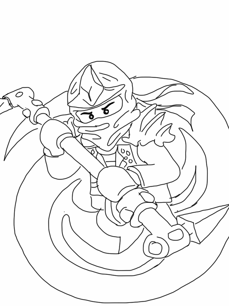 Coloring pages ninjago - Lego Ninjago Coloring Pages Free