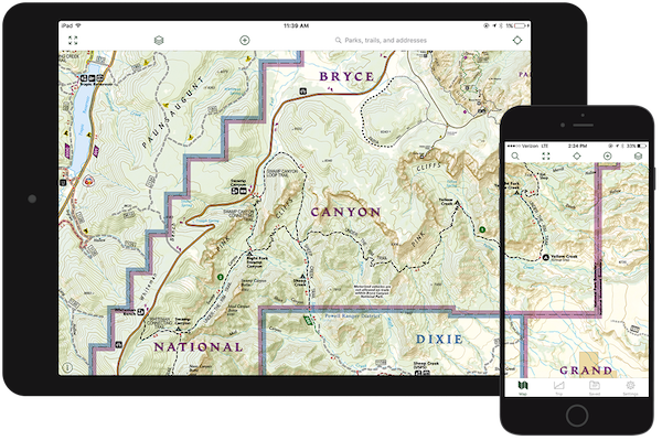 National Geographic Trails Illustrated | Gaia GPS