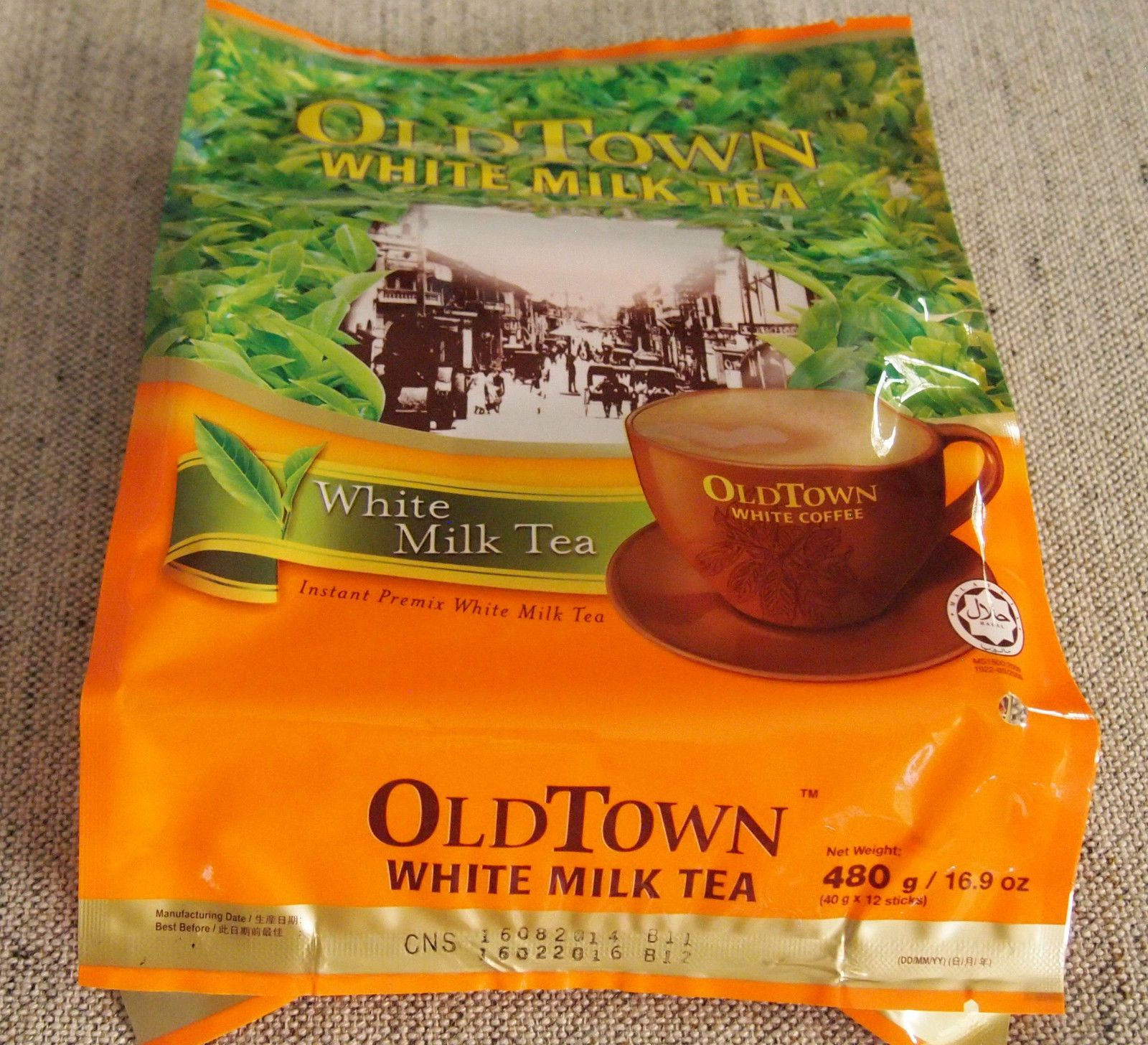 1 Bag Oldtown White Milk Tea 3 In 1 Ipoh, Malaysia 1 Bag
