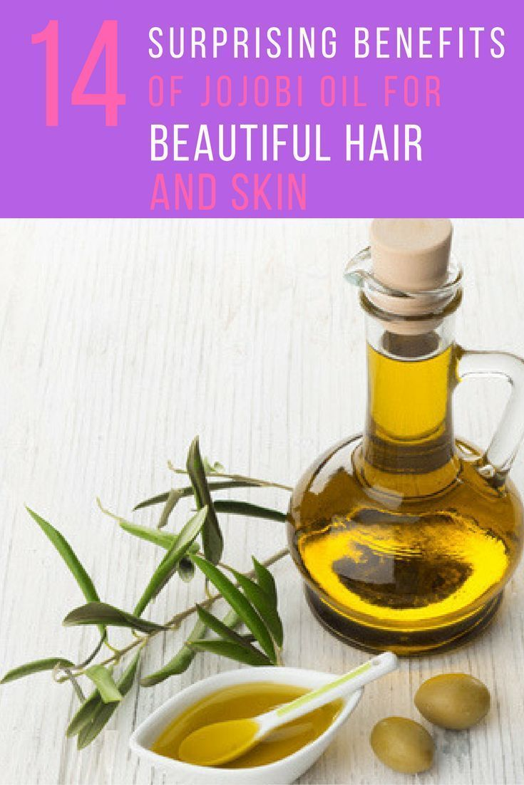 14 Surprising Jojoba Oil Benefits For Skin and Hair #jojobaoil