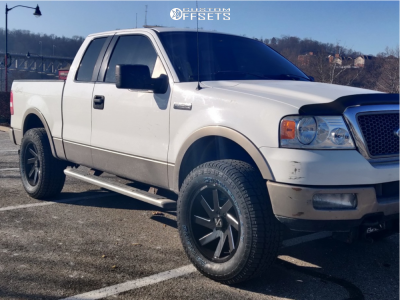 2005 Ford F 150 20x9 1mm Arkon Off Road Lincoln In 2020 Ford F150 Ford F150 Lifted Offroad