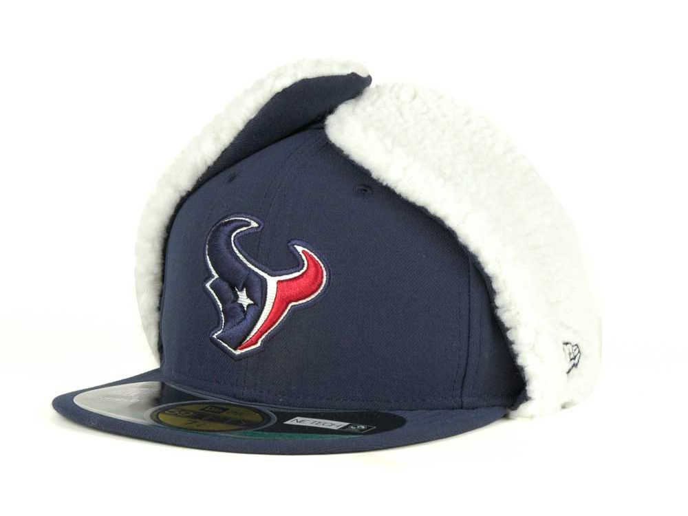 5cdfd124a Houston Texans New Era NFL On Field Dog Ear 59FIFTY Cap | Caps ...
