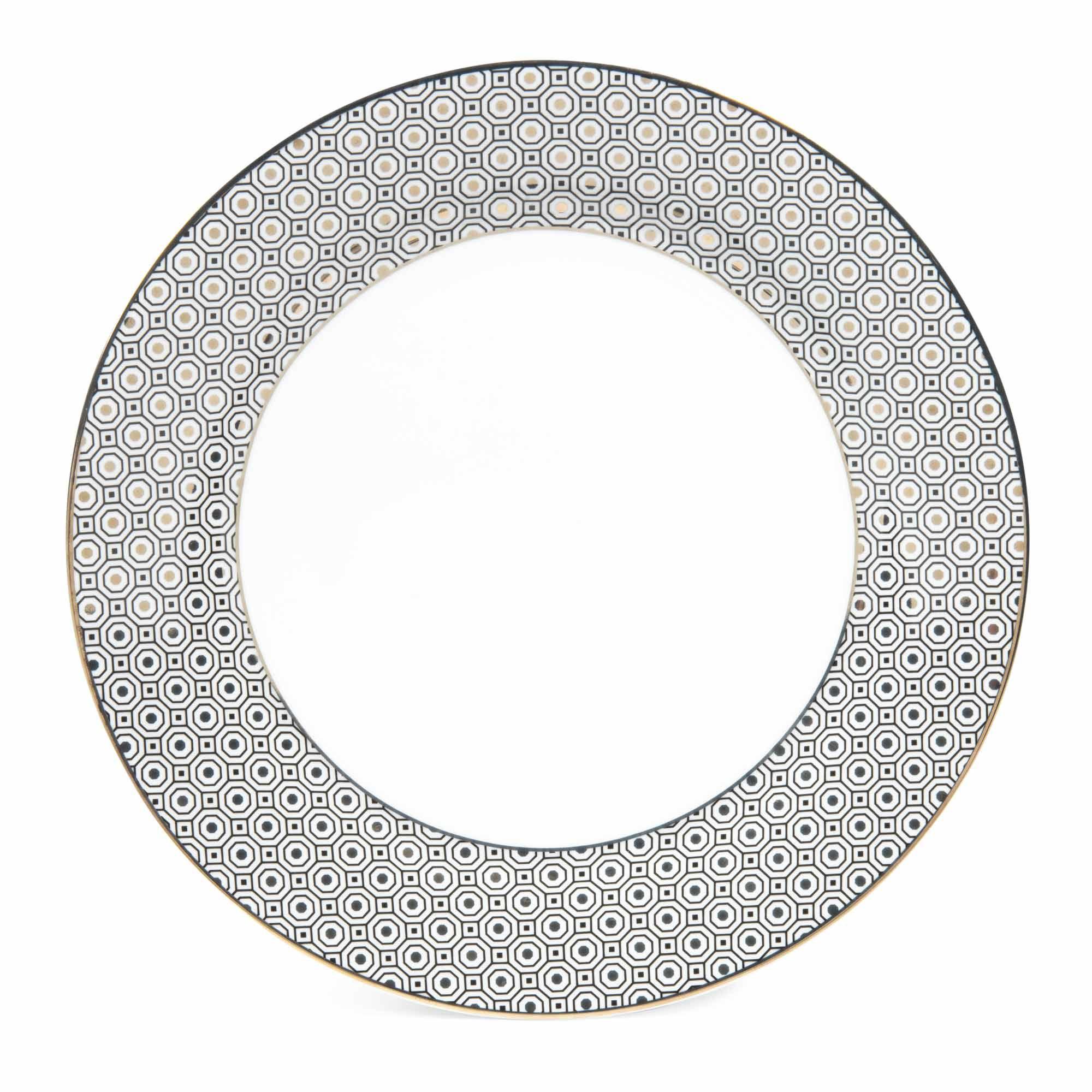 Assiette Plate En Porcelaine D 27 Cm Maisons Du Monde Assiettes Plates Assiette Vaisselle Assiette