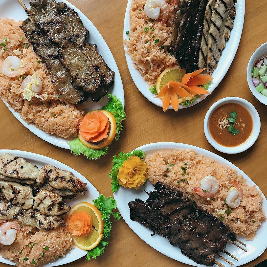 Now Open Thai Bbq Original Restaurant Vertis North Quezon City Franchised From Los Angeles California Serving Specialtie Mango Sticky Rice Food Thai Recipes