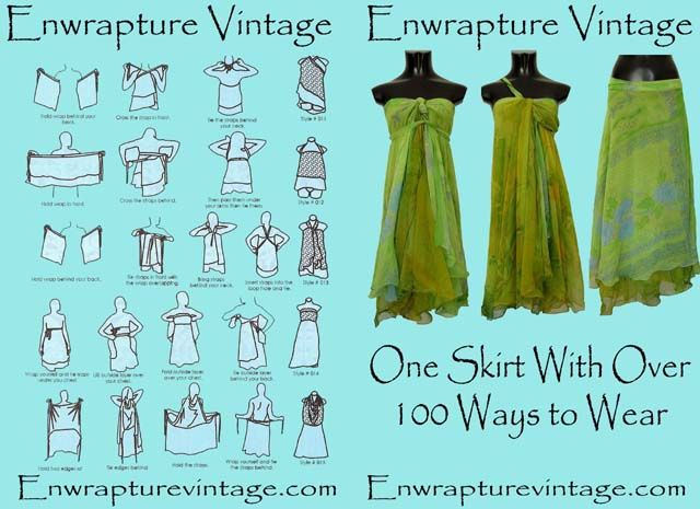 1000  images about Magic wrap skirt on Pinterest | Wrap skirts ...