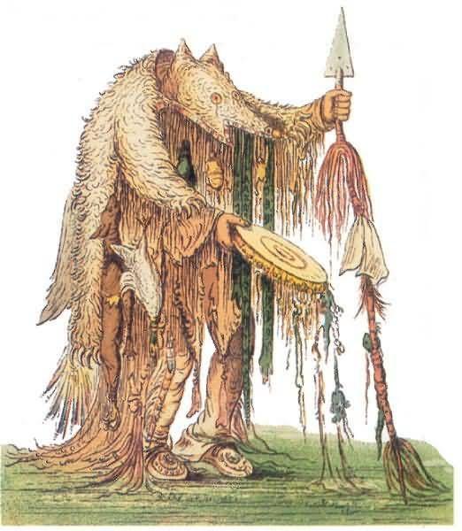 Blackfoot Bear Shaman.