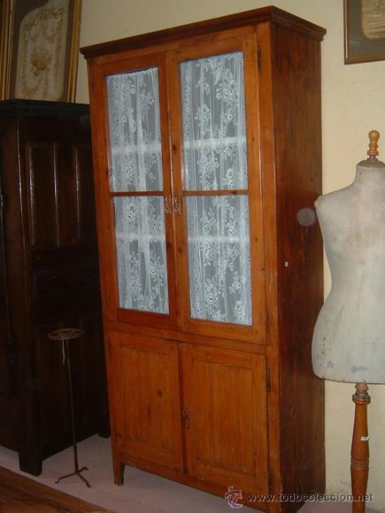 ARMARIO VITRINA (Antigüedades - Muebles Antiguos - Armarios Antiguos ...