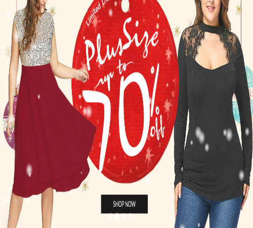 Happy Christmas Sale 75% OFF and Extra $5 OFF with Rosegal ...