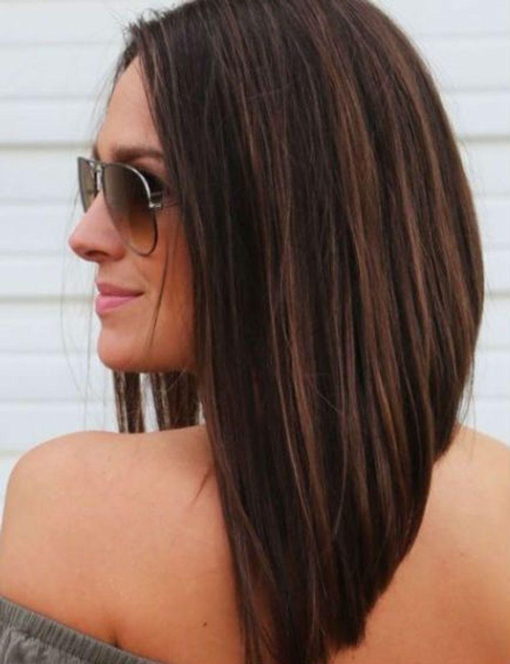 Carre Plongeant Long Coupe Cheveux Mi Long Visage Carre Carre Plongeant Long Visage Rond Coupes De Cheveux Carre Long
