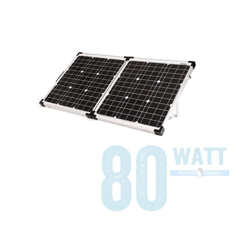 80 Watts Of Portable Solar Charging By Go Power Gp Psk 80 Solar Kit Solar Panels Best Solar Panels