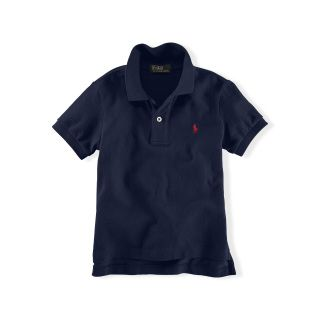 Polo by Ralph Lauren - Solid Basic Mesh SS Polo Shirt - Navy - size:  Small (8)