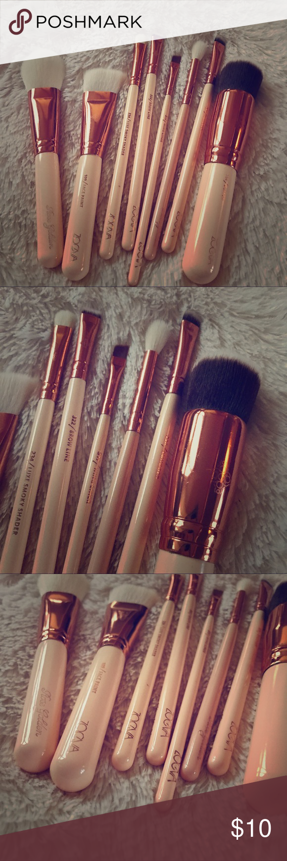 Zoeva Brush Set Includes all of the brushes pictured. They