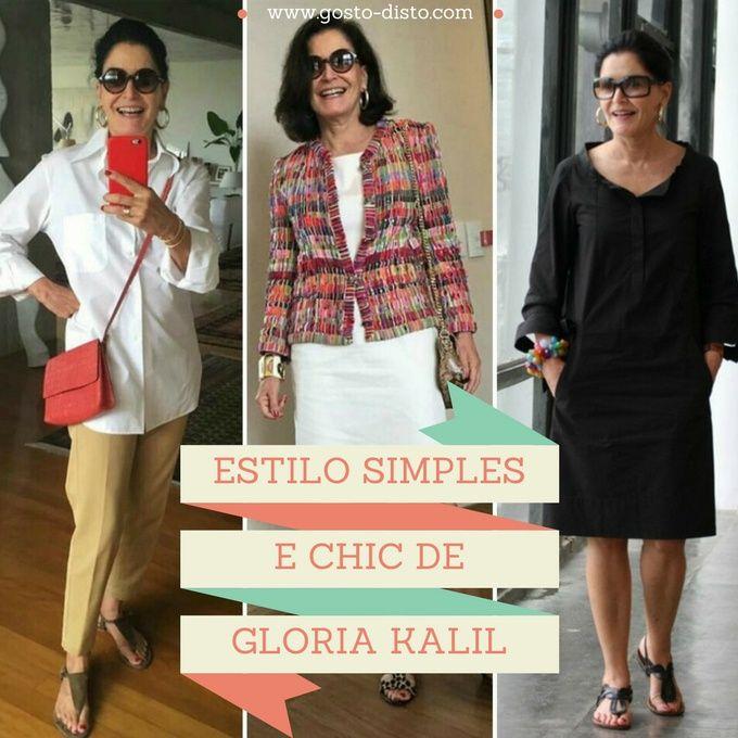 Moda Para Mulheres Com 50 Anos Ou Mais Gloria Kalil Com Imagens
