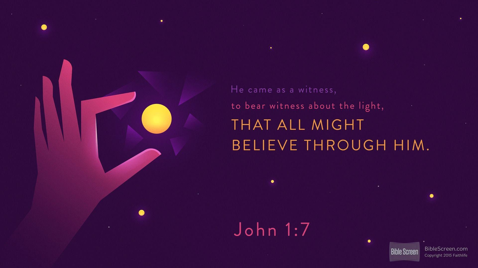 John 1:6 (NRSV) - Biblia.com