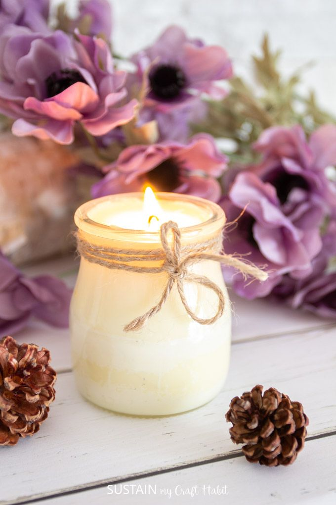 Learn how to make your own candles! #scentedcandles