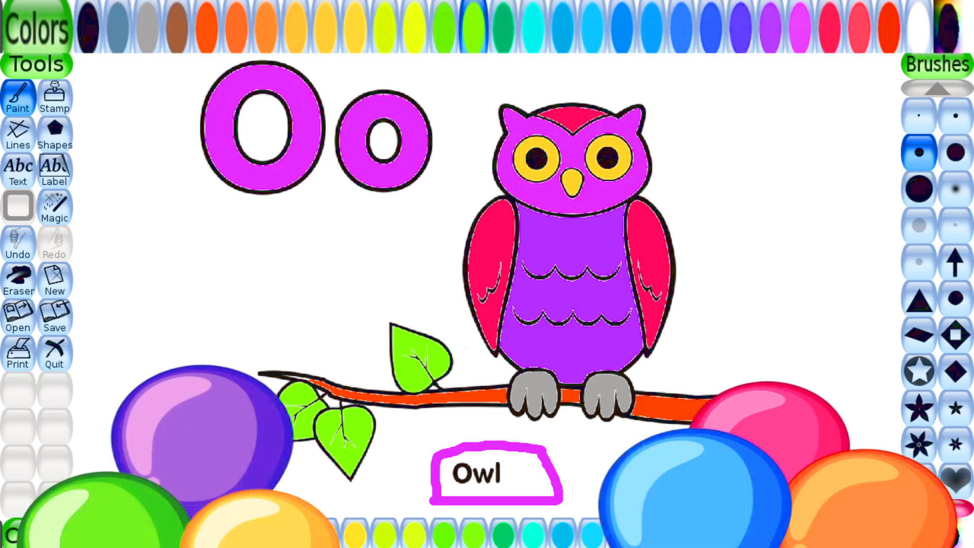 Free Printable Owl Coloring Page For Kids To Print And
